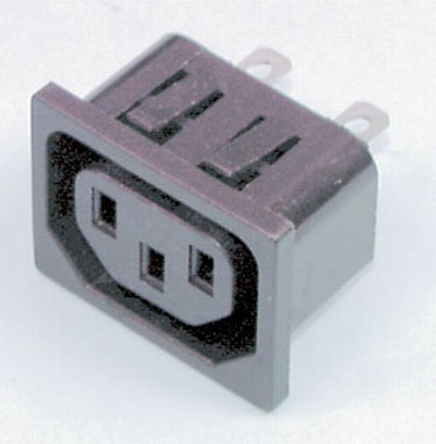 IEC Chassis Power Socket Female