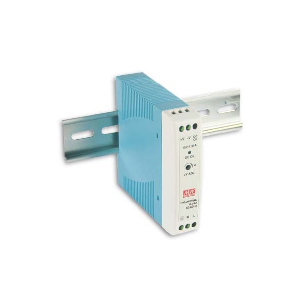 PS-13 Meanwell MDR-20-12 DIN Rail 12V Power Supply