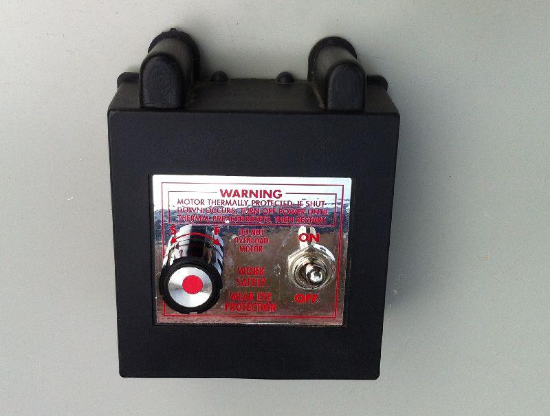 Sherline dc motor for Dc motor controller design