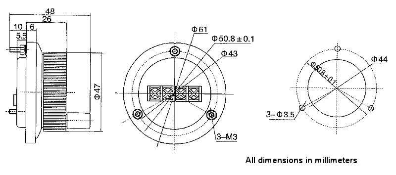 manual pulse generator 60mm 100ppr 5vdc  pg-01