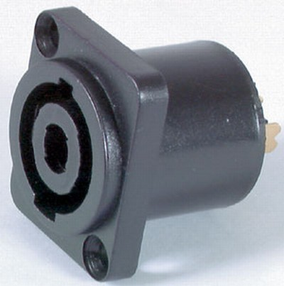 Heavy Duty 4 Pole Stepper Lead Socket