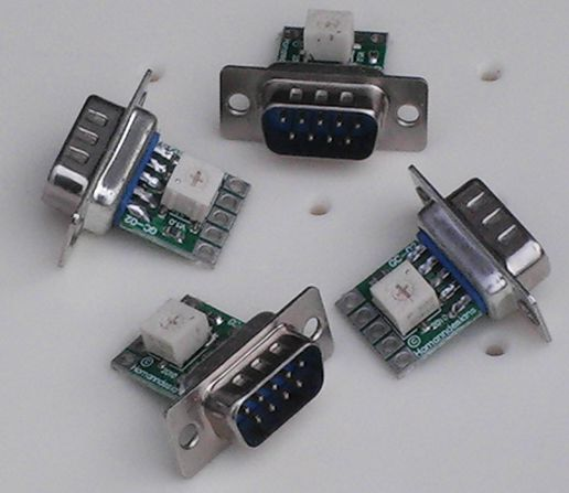 GC-02 DB-9 Stepper Breakout Board. (Four-Pack)