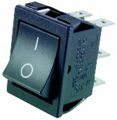 DPDT Power Rocker Switch - Click Image to Close